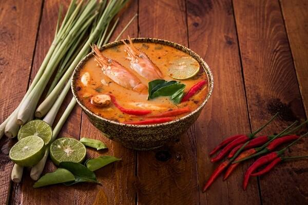 Súp tôm chua cay (Tom Yum Goong)