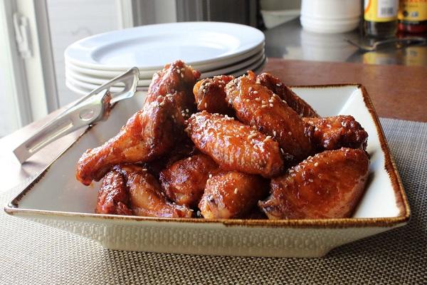 Cách làm cánh gà nướng mật ong dầu hào nướng bằng than hoa hoặc vỉ nướng