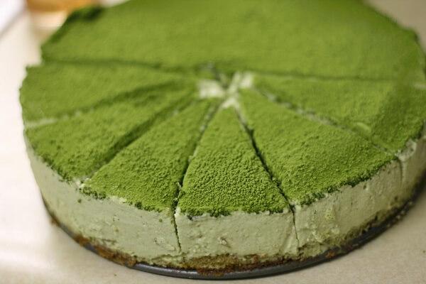 Cách làm bánh cheesecake trà xanh Nhật bản bằng tủ lạnh (không cần lò nướng)