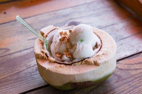 Cách làm kem dừa tại nhà bằng sữa đặc, sữa tươi, bột năng không cần máy siêu đơn giản dễ làm