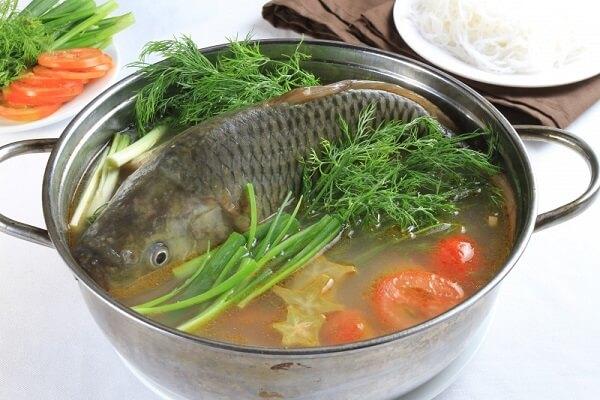 Cách làm lẩu cá (Cá chép, cá trắm) ngon thơm ngon bổ dưỡng