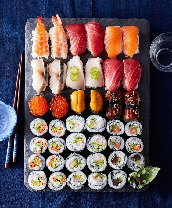 Cách làm món Sushi trứng cuộn bằng rong biển kiểu Nhật ngon lạ miệng