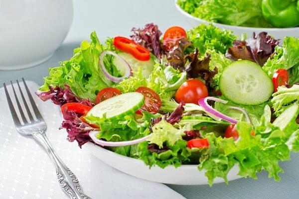 Cách làm Salad trộn dầu giấm giảm cân - Xà lách trộn dầu dấm