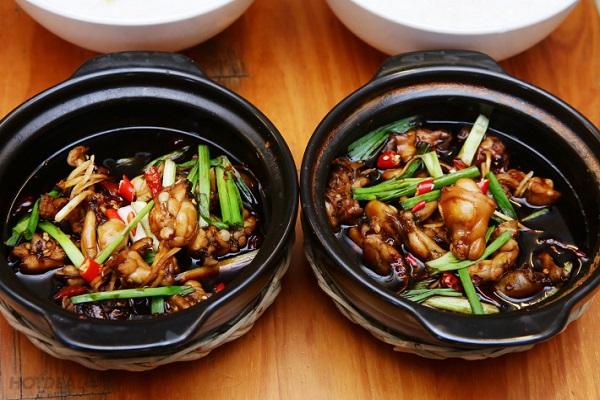 2 cách nấu cháo ếch Singapore ngon và cách nấu cháo ếch nấu với 7 loại rau củ quả cho trẻ ăn dặm