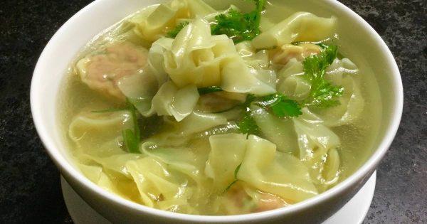 Hoành thánh - Văn hoá ẩm thực Trung Hoa - Cách nấu hoành thánh theo phong cách người Hoa