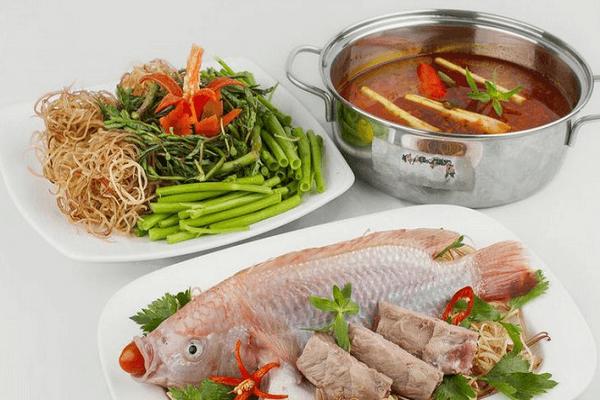 Cách Nấu Lẩu Cá Diêu Hồng Ngon Dễ Làm Tại Nhà