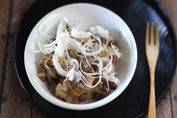 2 cách nấu xôi đậu phộng bằng nồi cơm điện thơm ngon đơn giản tại nhà