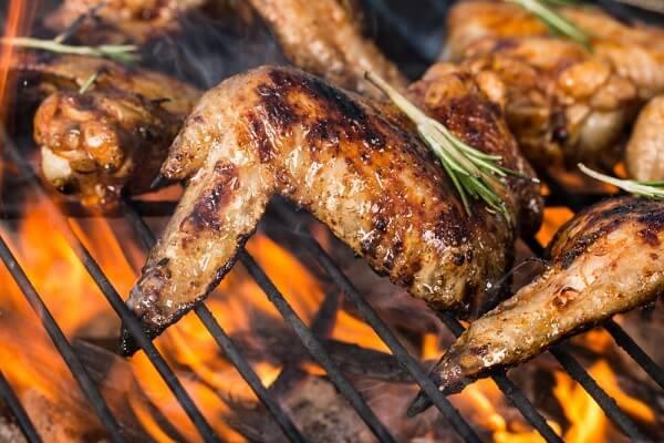 Cách ướp gà nướng than hoa nướng bằng than trên vỉ nướng