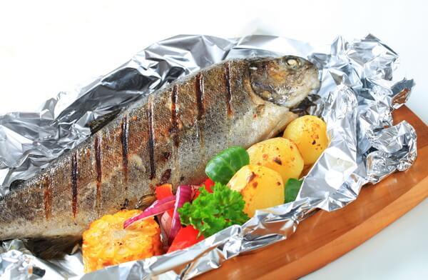 Lưu ý khi dùng món cá nướng giấy bạc