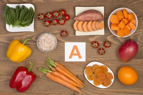 Những thực phẩm đó chứa rất nhiều vitamin A