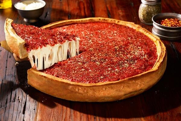"Chicago Pizza ""nhân nhồi"""
