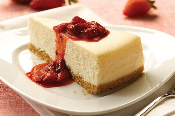 Cách làm bánh cheesecake nướng từ bánh quy Graham Cracker đơn giản