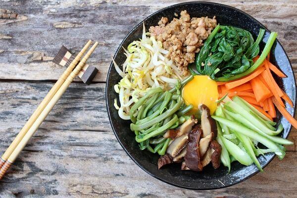 𝓗𝓞𝓣- Cách Làm Cơm Trộn Hàn Quốc Ngon Tại Nhà - Món Ngon