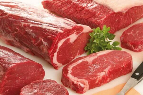 100 gram thịt bò