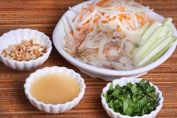 Cách chế biến món nộm sứa không bị tanh ngon nhất tại nhà