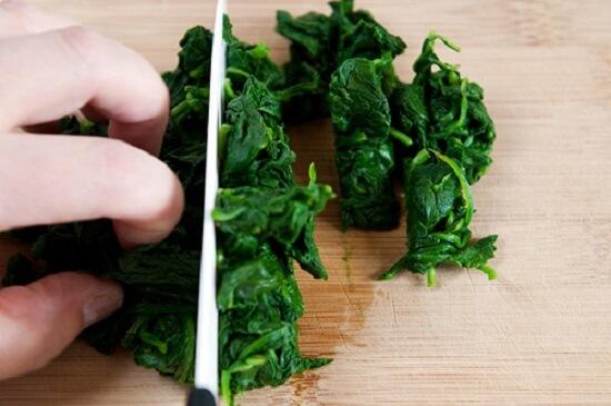 Sơ chế rau cải