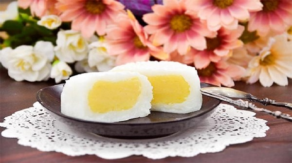 Bánh trung thu dẻo từ bột nếp không thể vắng mặt trong ngày Tết Trung thu