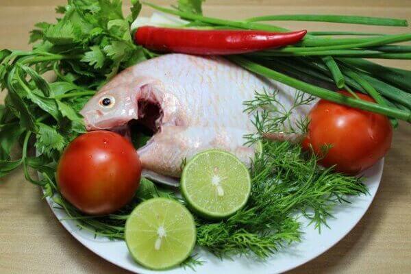 Cá diêu hồng : 1 con nặng khoảng từ 400 – 600g.