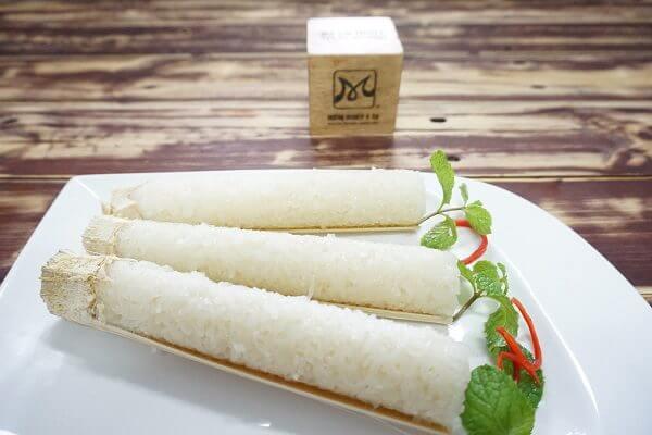 Cách làm cơm Lam ống nứa, Đặc sản Tây Bắc chỉ 6 bước đơn giản tại nhà