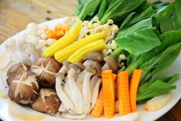 Các loại rau khác mà bạn thích ăn