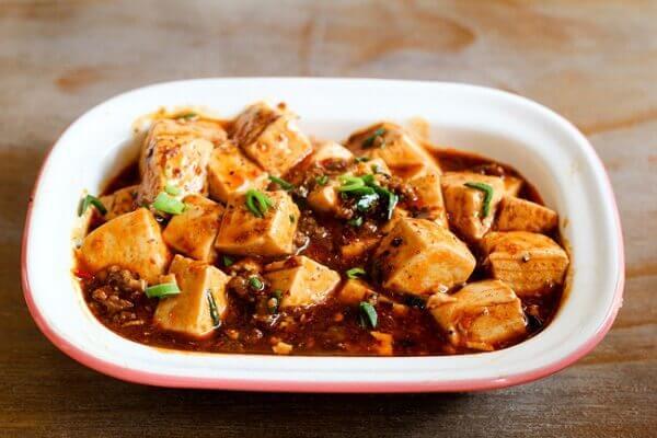 Đậu hũ tứ xuyên dễ dàng tìm thấy ở hầu hết nhà hàng Trung Hoa nào