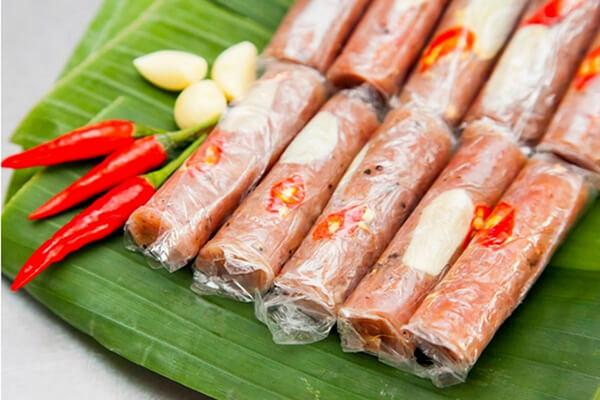 Cách làm nem chua Thanh Hóa , nem chua chính hiệu miền Trung