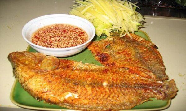 Cách pha nước mắm gừng sả tỏi ớt chấm cá nướng tuyệt ngon