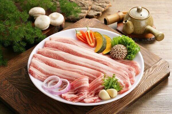 Thịt ba chỉ 400g