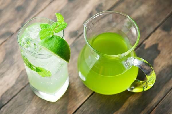 Trà chanh là một trong những thức uống cực yêu thích với các bạn trẻ