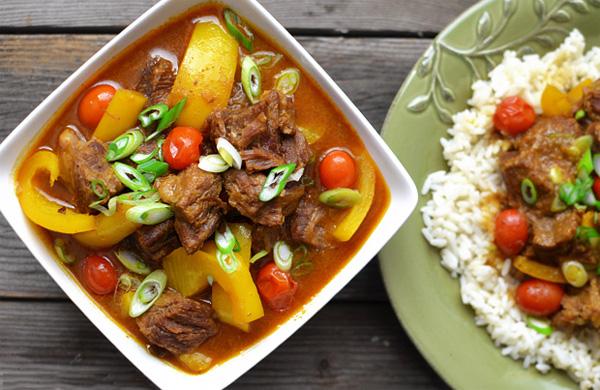 6 cách nấu cà ri ngon đơn giản như cà ri bò, cari sườn heo, cà ri dê Ấn Độ, cà ri vịt quay...