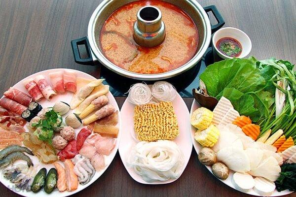 Cách nấu lẩu hải sản Thái - Lẩu hải sản chua cay