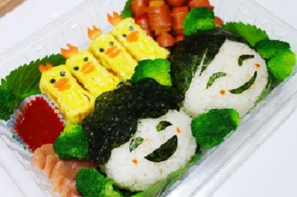 Cơm hộp Bento là gì, Cách làm cơm hộp Bento Nhật Bản, cơm hộp tình yêu với 60+ mẫu cơm đẹp đơn giản 1