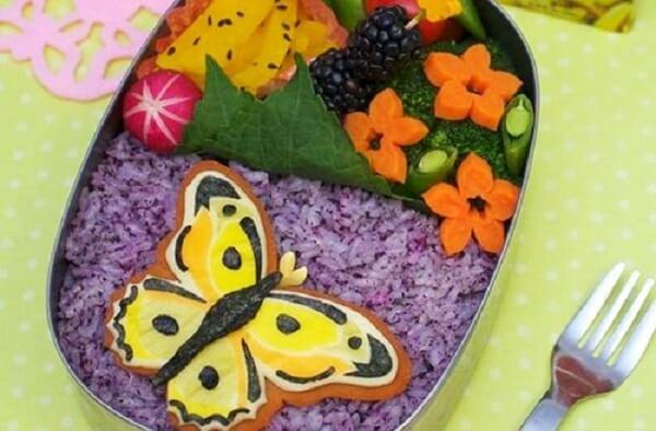 Cơm hộp Bento là gì, Cách làm cơm hộp Bento Nhật Bản, cơm hộp tình yêu với 60+ mẫu cơm đẹp đơn giản 3