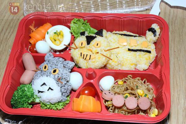 Cơm hộp Bento là gì, Cách làm cơm hộp Bento Nhật Bản, cơm hộp tình yêu với 60+ mẫu cơm đẹp đơn giản 11