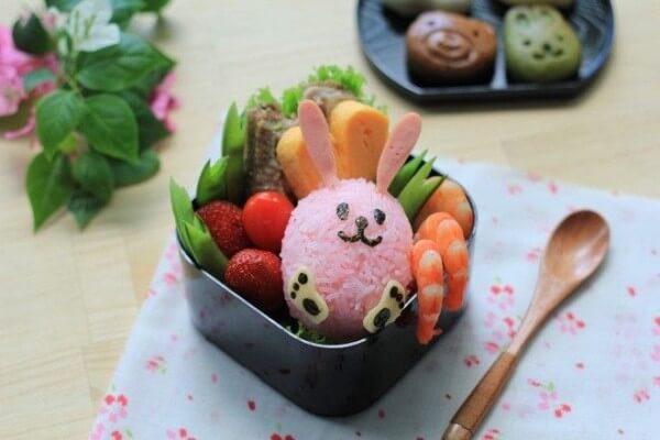Cơm hộp Bento là gì, Cách làm cơm hộp Bento Nhật Bản, cơm hộp tình yêu với 60+ mẫu cơm đẹp đơn giản 16
