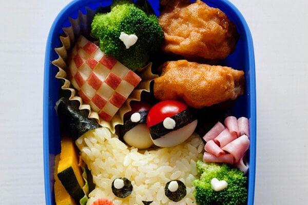 Cơm hộp Bento là gì, Cách làm cơm hộp Bento Nhật Bản, cơm hộp tình yêu với 60+ mẫu cơm đẹp đơn giản 19