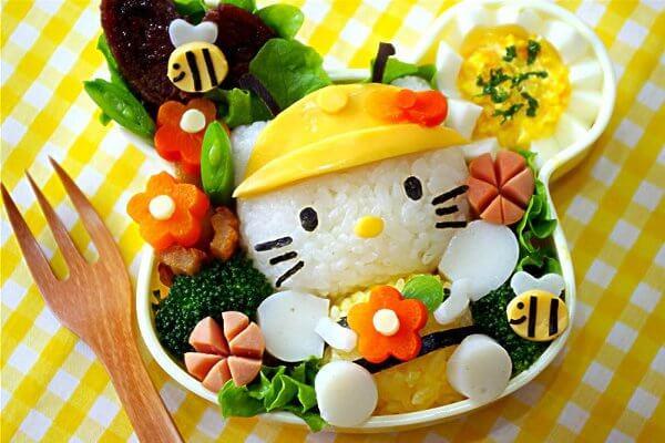 Cơm hộp Bento là gì, Cách làm cơm hộp Bento Nhật Bản, cơm hộp tình yêu với 60+ mẫu cơm đẹp đơn giản 18
