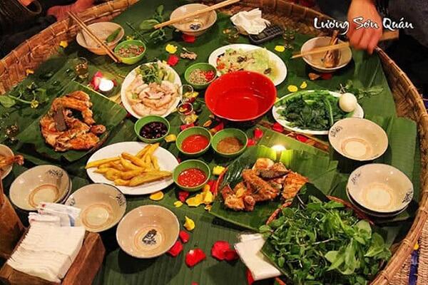 Thưởng thức hương vị dân dạ tại Lương Sơn Quán
