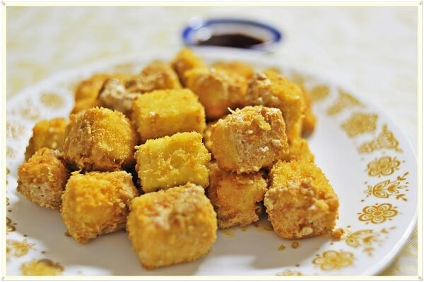 Các món ăn ngon dễ làm thường ngày – Đậu phụ rang muối