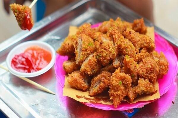 Nem chua rán Hà Nội ăn vào thời điểm nào cũng ngon