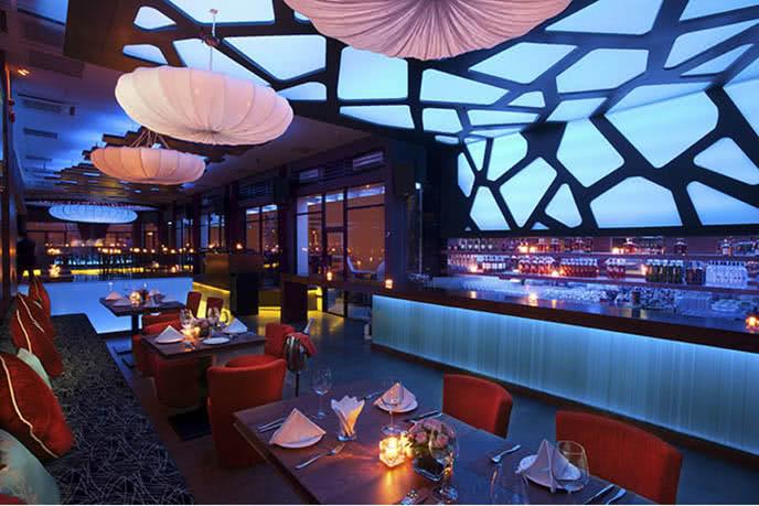 Rooftop Bar Hà Nội - Tầng 19 Toà nhà Pacific, số 83B Lý Thường Kiệt, Quận Hoàn Kiếm
