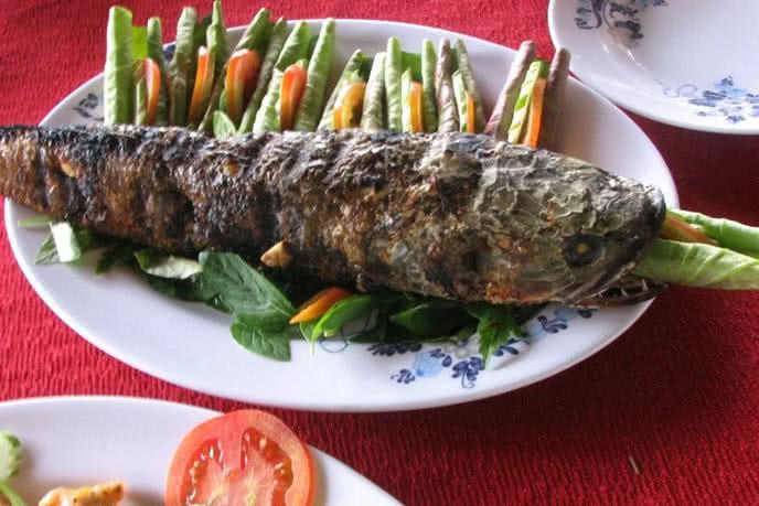 Một món ăn đậm chất Nam Bộ tại nhà hàng