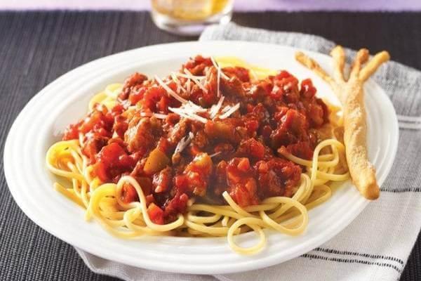 Sốt thịt bò bằm dùng ăn kèm mỳ Ý