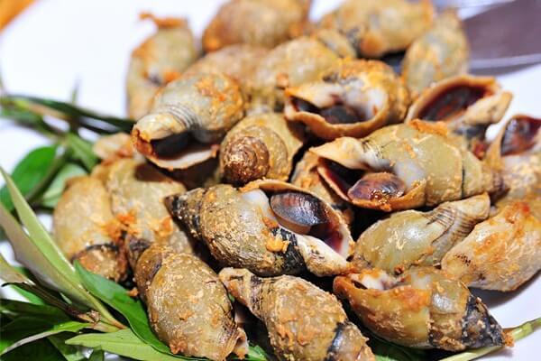 Cách làm ốc cà na rang muối ớt cay thơm ngon cuối tuần lai rai