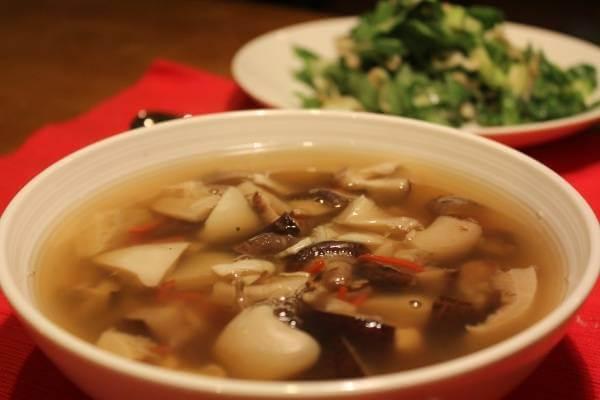 Súp nấm - món súp chay