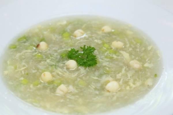 Súp hạt sen - các món súp dễ làm