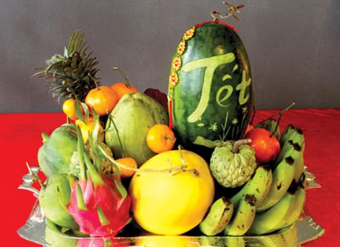 5 loại trái cây cúng ngày khai trương, ngày Tết, cách bày xếp trang trí mâm ngũ quả đẹp cúng tổ tiên ông bà, cúng khai trương gồm những gì? 1