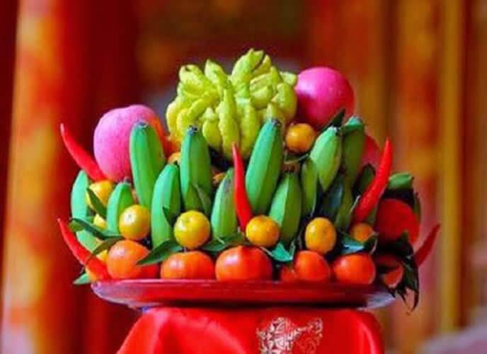 5 loại trái cây cúng ngày khai trương, ngày Tết, cách bày xếp trang trí mâm ngũ quả đẹp cúng tổ tiên ông bà, cúng khai trương gồm những gì? 6