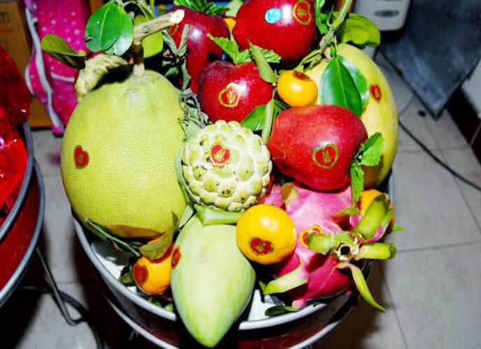 5 loại trái cây cúng ngày khai trương, ngày Tết, cách bày xếp trang trí mâm ngũ quả đẹp cúng tổ tiên ông bà, cúng khai trương gồm những gì? 8