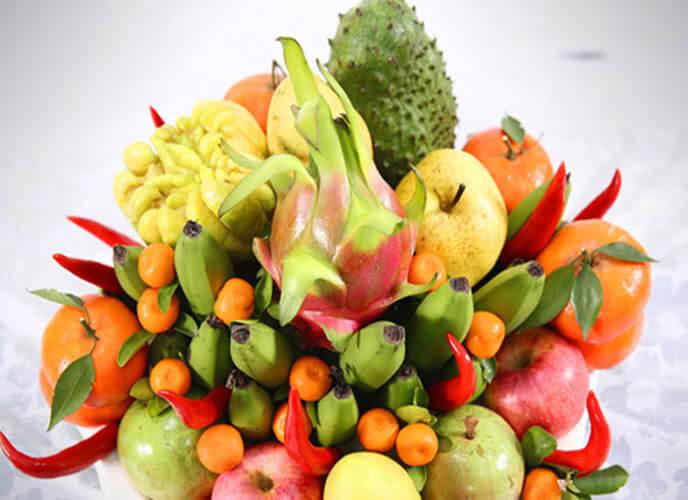 5 loại trái cây cúng ngày khai trương, ngày Tết, cách bày xếp trang trí mâm ngũ quả đẹp cúng tổ tiên ông bà, cúng khai trương gồm những gì? 2